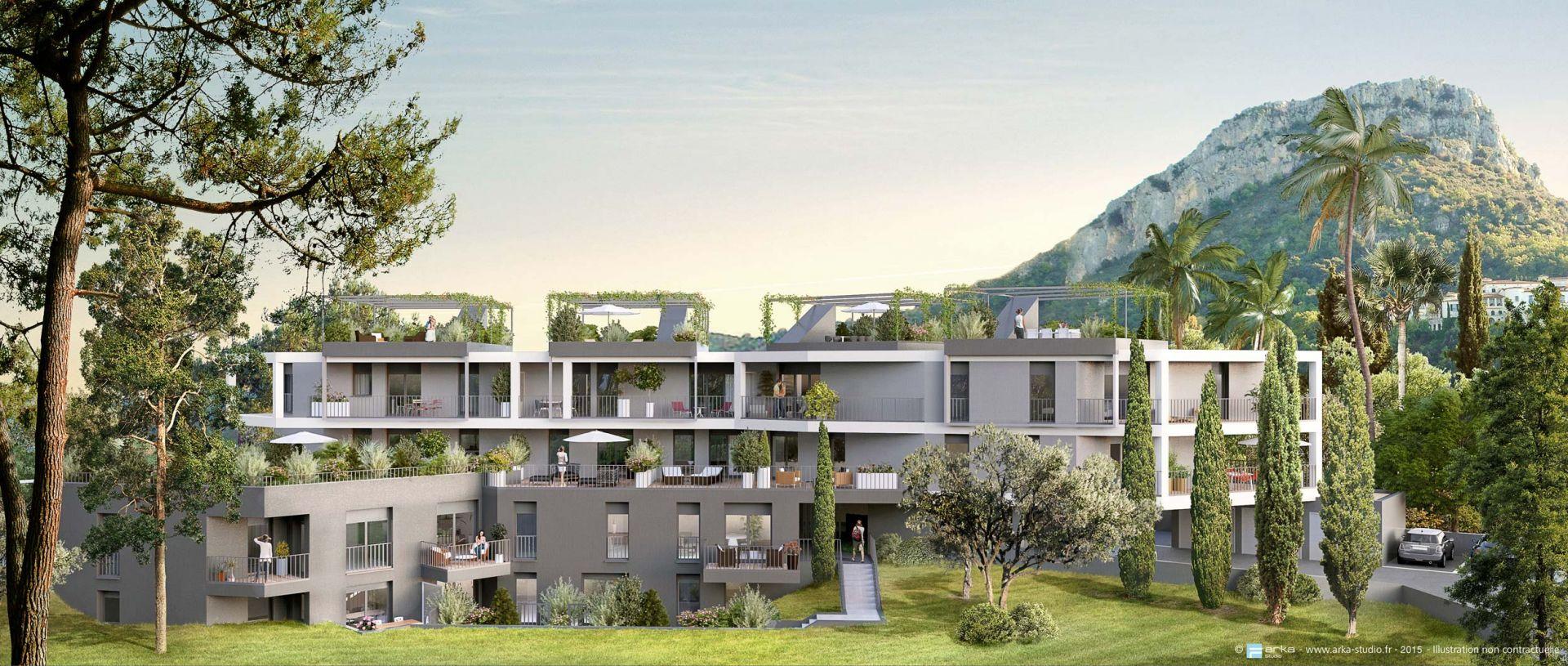 Les Terrasses De Clairefontaine Vence Alpes Maritimes Alm